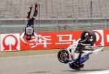 Lorenzo airborn on Saturday, finishes 2nd on Sunday!