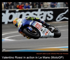 Rossi Wins at Le Mans