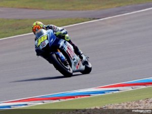 Rossi winning at Brno.  Courtesy of motogp.com