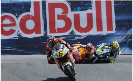 Rossi vs. Marquez stalking Bradl