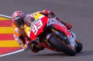 Marquez at Aragon