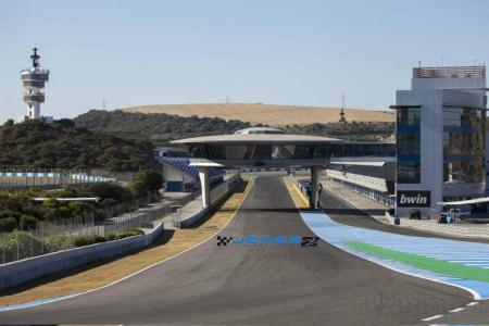 Jerez track