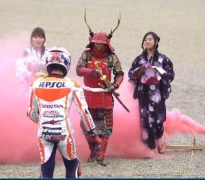 Samurai celebration
