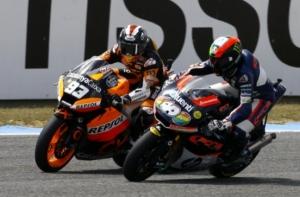 Marquez vs. Pol Espargaro Moto2