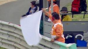 MotoGP white flag
