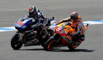 Marquez and Lorenzo