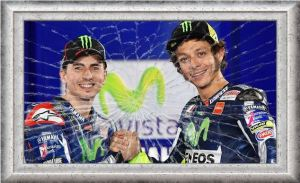 Rossi and Lorenzo Breakup
